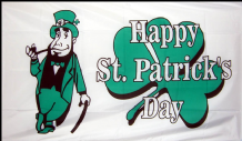 ST. PATRICKS DAY - 5 X 3 FLAG